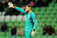 GRONINGEN - Voetbal, FC Groningen - PSV,  Eredivisie , Noordlease stadion, seizoen 2017-2018, 13-12-2017,   PSV doelman Jeroen Zoet