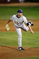 Paul Bargas of the Tri-City Dust Devils in the Northwest League championship game against the Salem-Keizer Volcanoes at Volcanoes Stadium - 9/10/2009..Photo by:  Bill Mitchell/Four Seam Images..