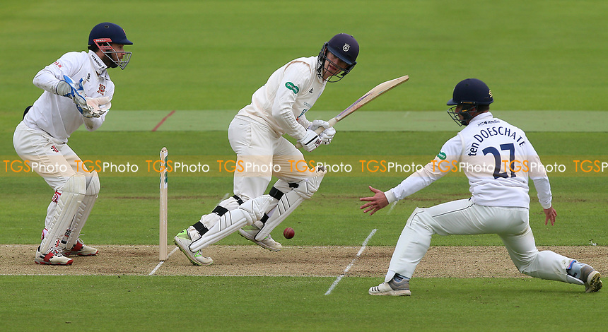 Jimmy Adams in batting action for Hampshire during Hampshire CCC vs Essex CCC, Specsavers County Championship Division 1 Cricket at the Ageas Bowl on 29th April 2018