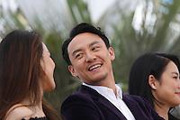 Shu Qi -  Hsieh Hsin-Ying - Chang Chen - Hou Hsiao-Hsien -  Tsumabuki SatoshiZhou Yun -  Sheu Fang-Yi <br /> Festival del Cinema di Cannes 2015<br /> Foto Panoramic / Insidefoto