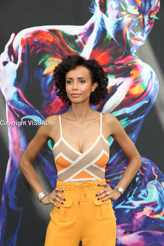 SONIA ROLLAND - PHOTOCALL CAIN - 56E FESTIVAL DE TELEVISION DE MONTE-CARLO 2016