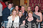 PARTY: Having a great time in Speedy's Bar, Moyvane, on New Year's Eve were Joanne Brazil, Noreen Dore, Theresa Heffernan, Catherine Dore, Sinead and Nora Dore, Paula Mitchell, and Marie Pearse (all Moyvane).   Copyright Kerry's Eye 2008