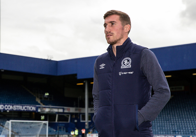 Blackburn Rovers' Joe Rothwell pictured before the match<br /> <br /> Photographer Andrew Kearns/CameraSport<br /> <br /> The EFL Sky Bet Championship - Queens Park Rangers v Blackburn Rovers - Saturday 5th October 2019 - Loftus Road - London<br /> <br /> World Copyright © 2019 CameraSport. All rights reserved. 43 Linden Ave. Countesthorpe. Leicester. England. LE8 5PG - Tel: +44 (0) 116 277 4147 - admin@camerasport.com - www.camerasport.com