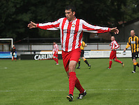 Robert Jamieson in the Huntly v Wigtown & Bladnoch William Hill Scottish Cup 1st Round match, at Christie Park, Huntly on 25.8.12.