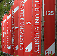 SU 125th Anniversary Banners/Wallscapes - Broadway and 12th Ave