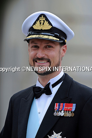 """CROWN PRINCE HAAKON OF NORWAY.PRINCESS VICTORIA AND DANIEL WESTLING WEDDING.Royal Guests at the wedding  Stockholm_19/062010.Mandatory Credit Photo: ©DIAS-NEWSPIX INTERNATIONAL..**ALL FEES PAYABLE TO: """"NEWSPIX INTERNATIONAL""""**..IMMEDIATE CONFIRMATION OF USAGE REQUIRED:.Newspix International, 31 Chinnery Hill, Bishop's Stortford, ENGLAND CM23 3PS.Tel:+441279 324672  ; Fax: +441279656877.Mobile:  07775681153.e-mail: info@newspixinternational.co.uk"""