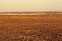 "Opal mine diggings or ""dumps"" on outskirts of Coober Pedy, South Australia"