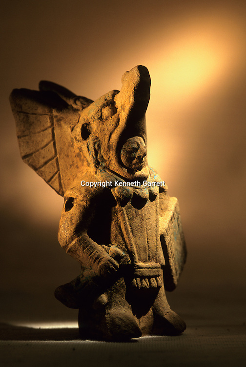 Artifact, Cancuen, Guatemala, Arthur Demarest, Tomas Barrientos, Maya, palace, Classic Period, Peten, warrior.