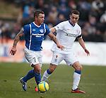 Chris Hegarty keeps tabs on David Cox