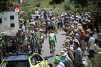 Green Jersey Peter Sagan (SVK/Tinkoff) going up<br /> <br /> Stage 18 (ITT) - Sallanches &rsaquo; Meg&egrave;ve (17km)<br /> 103rd Tour de France 2016