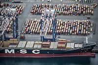 Il porto di Gioia Tauro Dic 2016