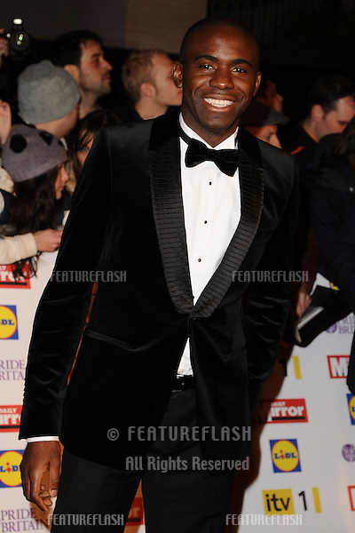 Fabrice Muamba arriving for the 2012 Pride of Britain Awards, at the Grosvenor House Hotel, London. 29/10/2012 Picture by: Steve Vas / Featureflash
