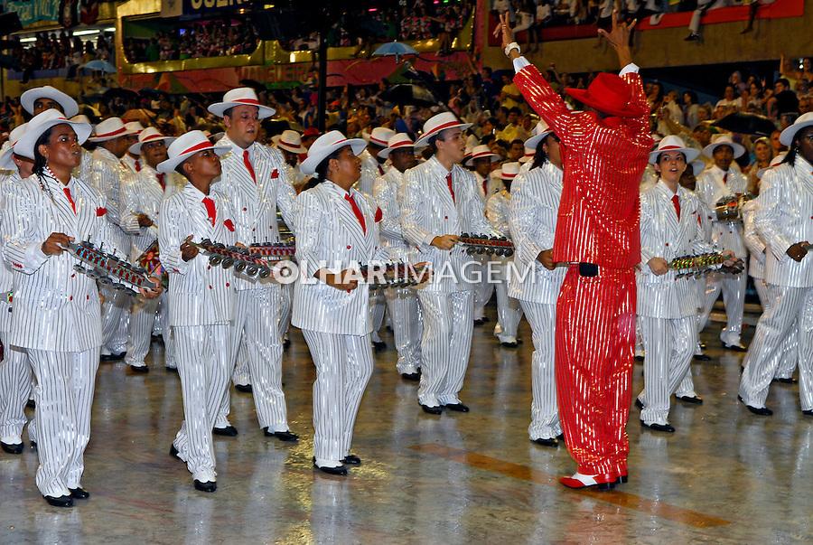 Desfile de carnaval no sambódromo. Salgueiro. Rio de Janeiro. 2008. Foto de Luciana Whitaker