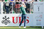 Justin Rose of England tees off the first hole during the 58th UBS Hong Kong Golf Open as part of the European Tour on 10 December 2016, at the Hong Kong Golf Club, Fanling, Hong Kong, China. Photo by Marcio Rodrigo Machado / Power Sport Images