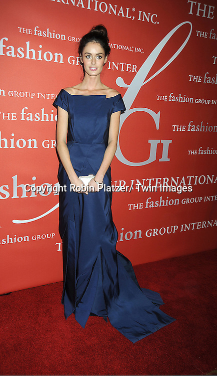 Nicole Trunfio attends the Fashion Group International's 29th Annual  Night of Stars Gala on October 25, 2012 at Cipriani Wall Street in New York City.
