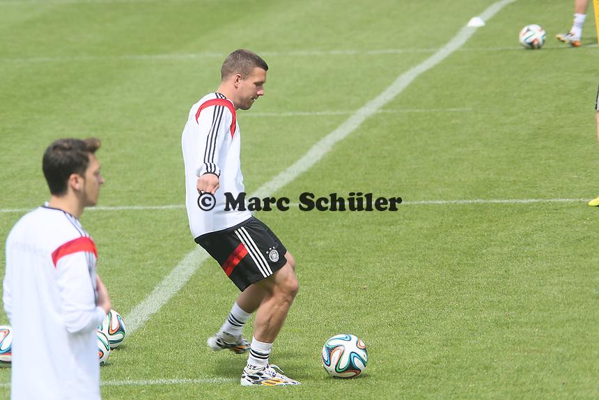 Lukas Podolski - Abschlusstraining der Deutschen Nationalmannschaft gegen die U20 im Rahmen der WM-Vorbereitung in St. Martin