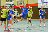 Iseball Hurst (Leipzig) setzt sich durch und wirft - 10.03.2019: SG Weiterstadt/Braunshardt/Worfelden vs. HC Leipzig, Sporthalle Braunshardt