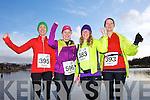 Helen Burns, Joanne Allman, Sinead Kelliher and Nora Kelliher at the Valentines 10 mile road race in Tralee on Saturday.