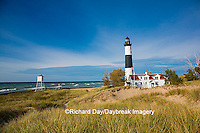 64795-01001 Big Sable Point Lighthouse on Lake Michigan, Mason County, Ludington, MI