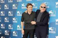 Venice, Italy - September 04: Willem Dafoe and Abel Ferrara attend the 'Pasolini' photocall at Palazzo Del Cinema, during the 71st Venice Film Festival on September 04, 2014 in Venice, Italy. (Photo by Mark Cape/Inside Foto)<br /> Venezia, Italy - September 04: Willem Dafoe and Abel Ferrara presenti al photocall di 'Pasolini' al Palazzo Del Cinema, durante del 71st Venice Film Festival. Settenbre 04, 2014 Venezia, Italia. (Photo by Mark Cape/Inside Foto)