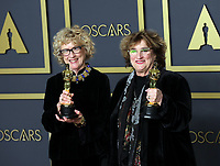 09 February 2020 - Hollywood, California - Nancy Haigh, Barbara Ling attend the 92nd Annual Academy Awards presented by the Academy of Motion Picture Arts and Sciences held at Hollywood & Highland Center. Photo Credit: Theresa Shirriff/AdMedia