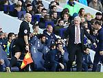 Stoke's Mark Hughes in action<br /> <br /> - Barclays Premier League - Tottenham Hotspur vs Stoke City- White Hart Lane - London - England - 9th November 2014  - Picture David Klein/Sportimage