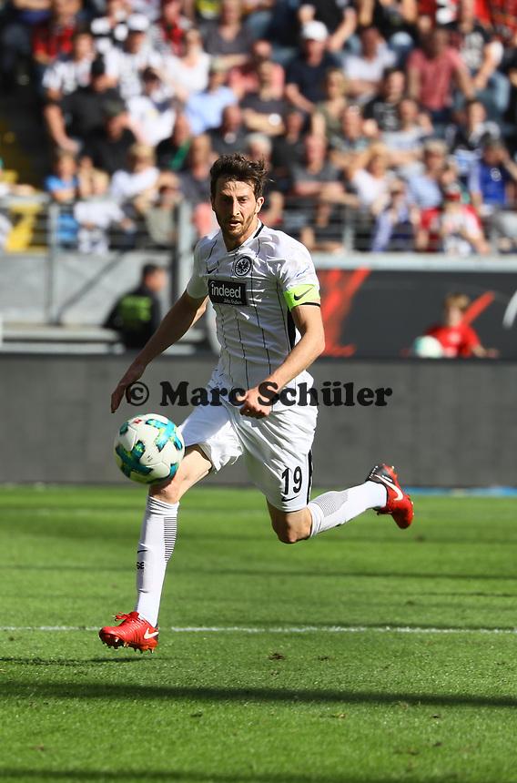 David Abraham (Eintracht Frankfurt) - 05.05.2018: Eintracht Frankfurt vs. Hamburger SV, Commerzbank Arena, 33. Spieltag Bundesliga
