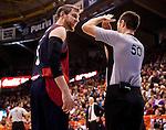 "Basketball - ACB Endesa League.<br /> Valencia BC (75) vs (79) Caja Laboral.<br /> Fuente de San Luis Pavillion ""La Fonteta"".<br /> 11 - 11 - 2012 Valencia (Spain)"