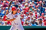 9 July 2017: Washington Nationals third baseman Anthony Rendon in action against the Atlanta Braves at Nationals Park in Washington, DC. The Nationals defeated the Atlanta Braves to split their 4-game series going into the All-Star break. Mandatory Credit: Ed Wolfstein Photo *** RAW (NEF) Image File Available ***