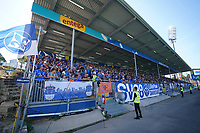 Fans des SV Darmstadt 98 - 15.09.2019: SV Darmstadt 98 vs. 1. FC Nürnberg, Stadion am Boellenfalltor, 6. Spieltag 2. Bundesliga<br /> DISCLAIMER: <br /> DFL regulations prohibit any use of photographs as image sequences and/or quasi-video.