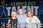 Talented performers in Kerry are invited to take part in this year's Kerry's Got Talent which was officially launched last week. .L-R Fiona O'Connor, Francis Jones and Abigail Bernard