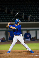AZL Cubs designated hitter Chris Carrier (28) at bat against the AZL Royals on July 19, 2017 at Sloan Park in Mesa, Arizona. AZL Cubs defeated the AZL Royals 5-4. (Zachary Lucy/Four Seam Images)