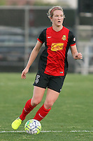 Piscataway, NJ, Saturday May 7, 2016. Western New York Flash midfielder Samantha Mewis (5).  The Western New York Flash defeated Sky Blue FC, 2-1, in a National Women's Soccer League (NWSL) match at Yurcak Field.