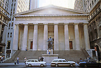 New York: Federal Hall National Memorial (Old Custom House), 1842. Town and Davis, architects. National Register of Historic Places  1966.