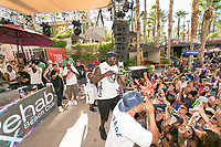 LAS VEGAS, NV - AUGUST 13: ***HOUSE COVERAGE*** DJ Diesel aka Shaquille O'Neal   hosts at Rehab Beach Club at Hard Rock Hotel & Casino in Las vegas, NV on August 13 2017. Credit: GDP Photos/ MediaPunch