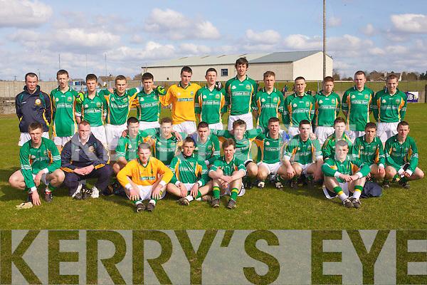 Saint Brendans v  Saint Patricks Navan at Nenagh on Sunday for the All-Ireland colleges  Semi final at Nenaghon Sunday.