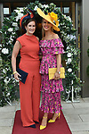 Emer and Charlene Brosnan, Killarney pictured at the Killarney Apres Races party in The Brehon Hotel, Killarney on Thursday night.<br /> Photo: Don MacMonagle<br /> <br /> repro free photo<br /> further info: Aoife O'Donoghue aoife.odonoghue@gleneaglehotel.com