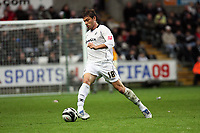Pictured: Gorka Pintado of Swansea City in action <br />