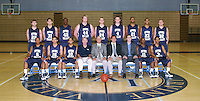 Irvine Valley College basketball team photo.