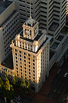 Aerial View of Jackson Tower, Downtown Portland, Oregon,