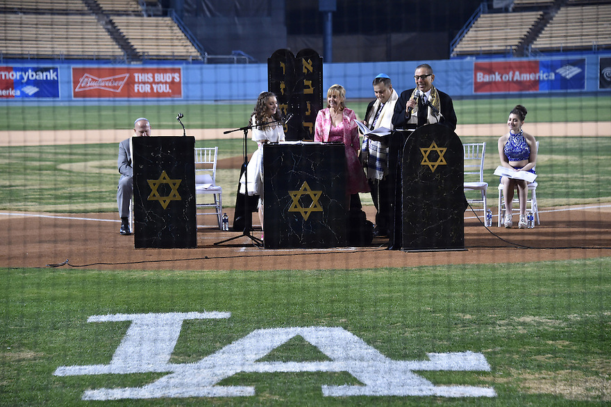 Emma Blumen Batmitzvah Saturday, January 9, 2016 at Dodger Stadium. Photo by © Jon SooHoo/ 2016