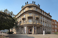 The Ephraim Palais, bought in 1762 and remodelled in Rococo style by Veitel Heime Ephraim, an important Jewish merchant and banker, now a museum, Mitte, Berlin, Germany. Picture by Manuel Cohen