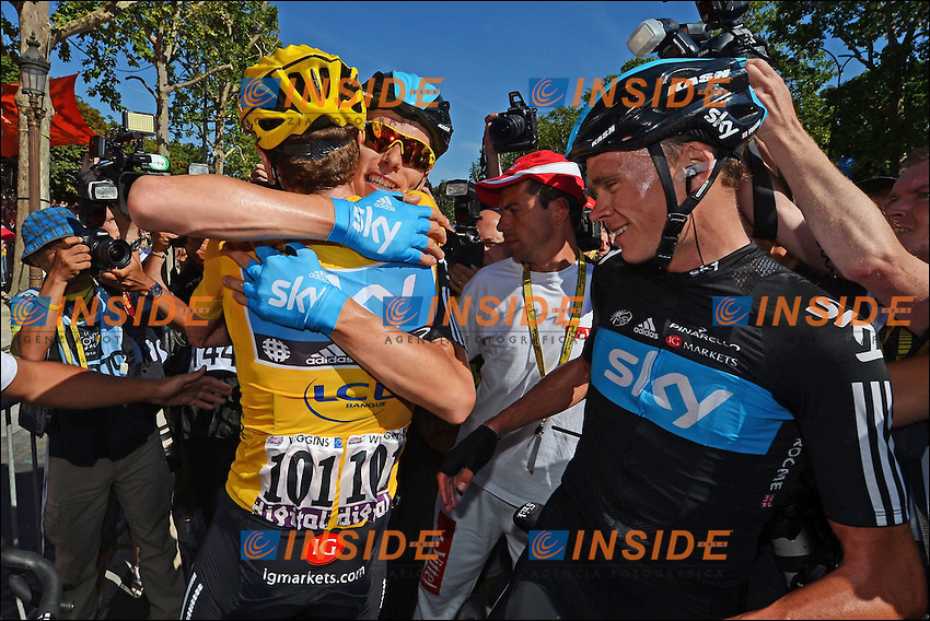 Bradley Wiggins (GBr) of Sky Procycling Team .Foto Insideofoto / Kalut - De Voecht / Photo News / Panoramic.ITALY ONLY