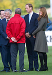 "CATHERINE, DUCHESS OF CAMBRIDGE AND PRINCE WILLIAM.attend the opening of St. George's Park, the Football Association's National Football Centre, Burton-Upon-Trent..Their Royal Highnesses were given a tour of the main facilities on the 330-acre site and also met England Manager Roy Hodgson and his squad as they trained at St. George's Park for the first time_09/10/2012.Mandatory credit photo: ©Dias/NEWSPIX INTERNATIONAL..(Failure to credit will incur a surcharge of 100% of reproduction fees)..                **ALL FEES PAYABLE TO: ""NEWSPIX INTERNATIONAL""**..IMMEDIATE CONFIRMATION OF USAGE REQUIRED:.DiasImages, 31a Chinnery Hill, Bishop's Stortford, ENGLAND CM23 3PS.Tel:+441279 324672  ; Fax: +441279656877.Mobile:  07775681153.e-mail: info@newspixinternational.co.uk"