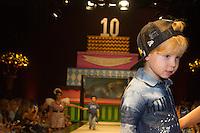 SÃO PAULO,SP,29.03.2015- FASHION WEEKEND KIDS -Modelos mirins durante o desfile da marca Mini U.S.Adventure.Shopping Cidade Jardim,região sul da cidade de São Paulo na noite desse domingo,28.(FOTO:KEVIN DAVID/BRAZIL PHOTO PRESS).