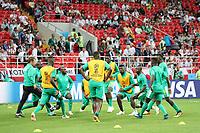 Senegal beim Aufwärmen - 19.06.2018: Polen vs. Senegal, Gruppe H, Spartak Stadium Moskau