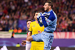 CF Rostov's player Soslan Dzhanaev during a match of UEFA Champions League at Vicente Calderon Stadium in Madrid. November 01, Spain. 2016. (ALTERPHOTOS/BorjaB.Hojas)