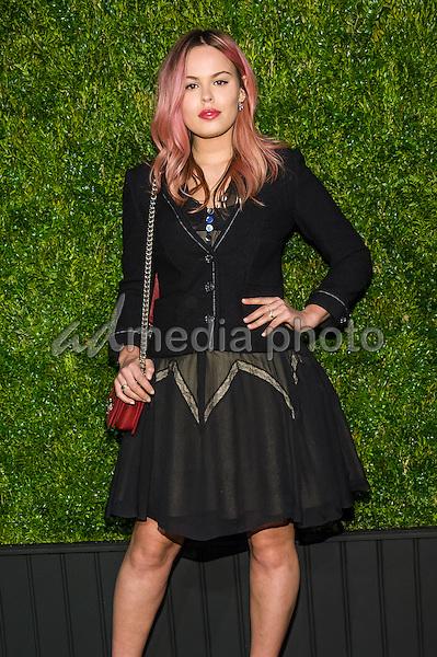 18 April 2016 - New York, New York- Atlanta De Cadanet Taylor. Chanel Artists Dinner at Tribeca Film Festival. Photo Credit: Mario Santoro/AdMedia