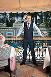 Restaurateur Barton G photographed at The Villa by Barton G