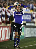 2 April 2005:  Craig Waibel of Earthquakes against Revolution at Spartan Stadium in San Jose, California.   Earthquakes and Revolutions tied at 2-2.  Credit: Michael Pimentel / ISI
